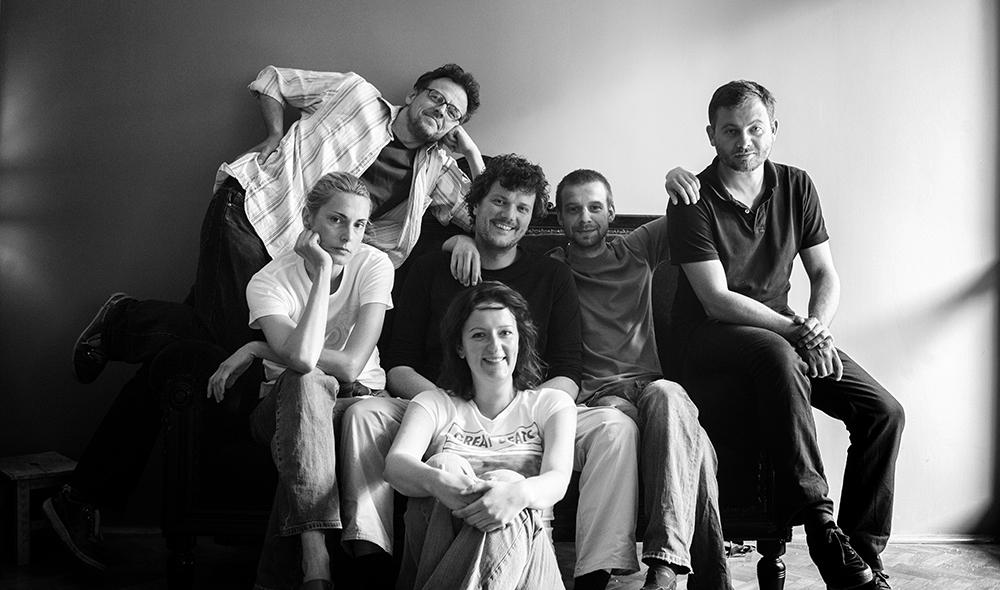 from left: Ewa Meissner, Piotr Malecki, Monika Szewczyk, Filip Cwik, Adam Lach and Maciej Jeziorek
